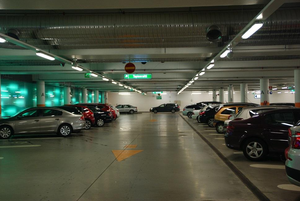 Tapionaukio parking facility, Espoo